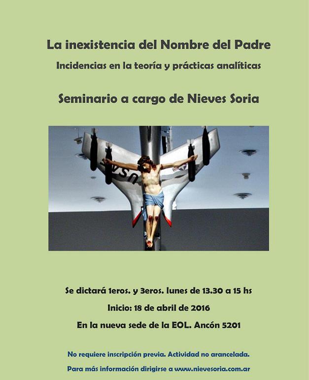 Afiche Nieves Soria