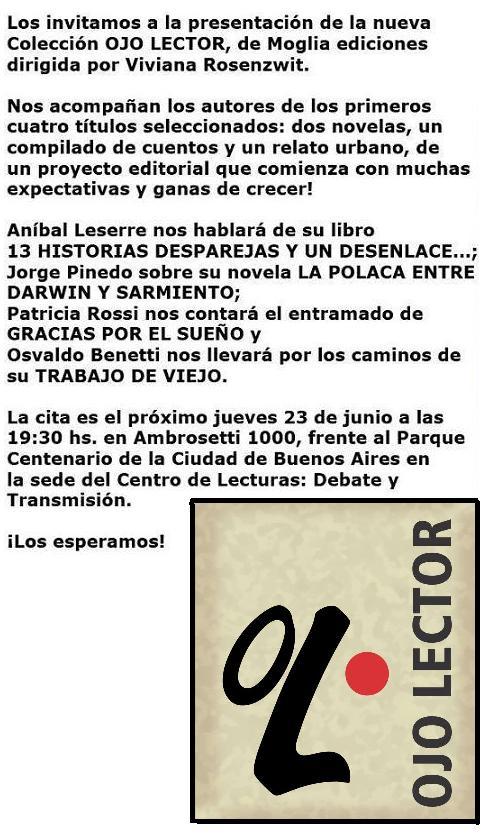 presentacion2 coleccion ojo lector